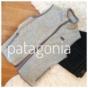 {patagonia} better than sweater full zip vest